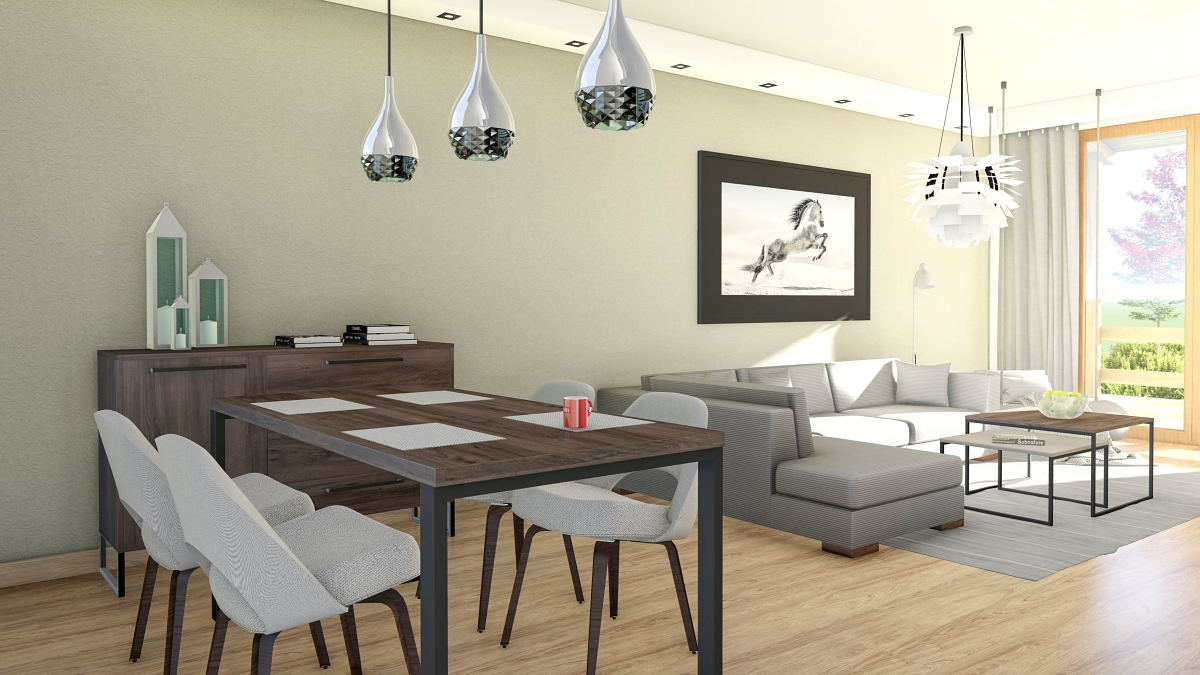 Obývačky a jedálne