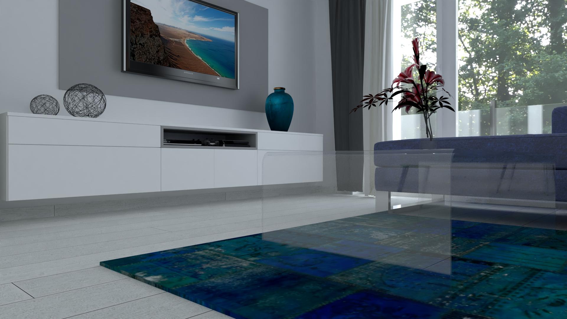 3D vizualizácia 2-izbového bytu